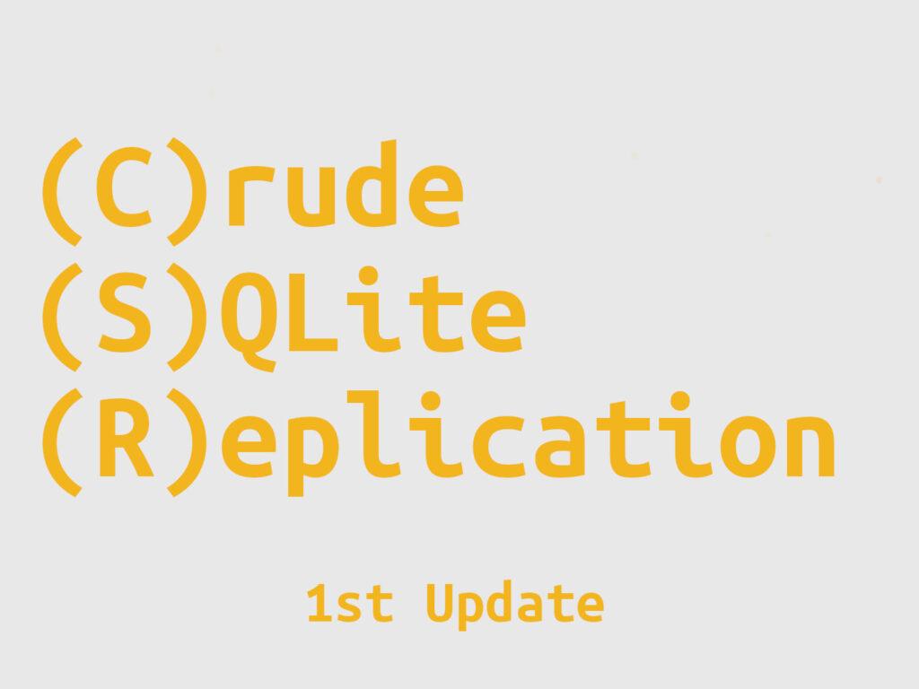 CSR: 1st Update
